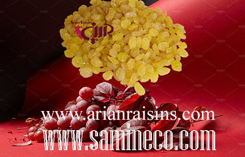 golden yellow raisins