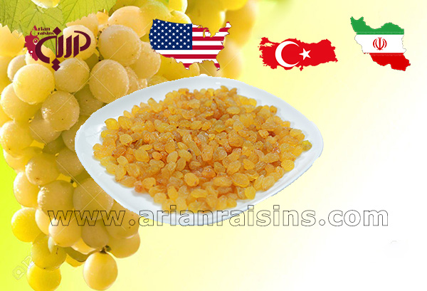 export golden raisins